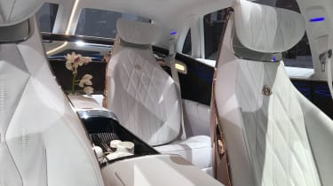 Mercedes-Maybach SUV interior rear