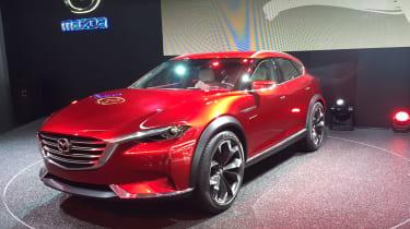 Mazda Koeru SUV - front
