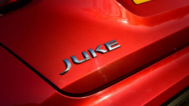 Nissan Juke badge