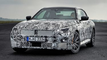 BMW 2 Series Coupe prototype - front static