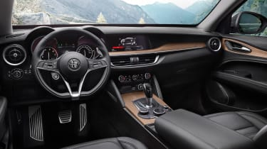 Alfa Romeo Stelvio First Edition interior