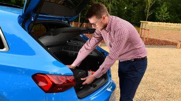 Audi S3 long termer - first report boot