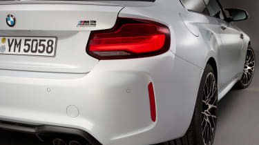 New BMW M2 Competition Pack - taillight