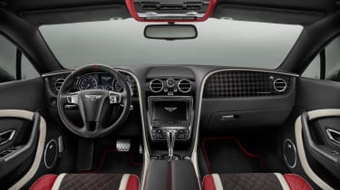Bentley Continental Supersports 2017 - official interior