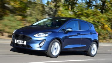 Ford Fiesta - tracking