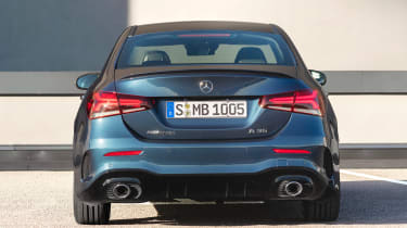 Mercedes-AMG A 35 Saloon - full rear