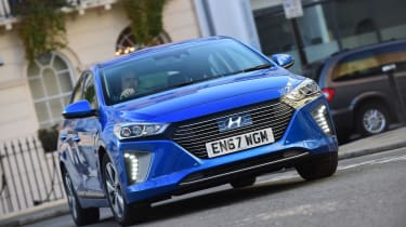 Hyundai Ioniq Plug-in long term - first report front action