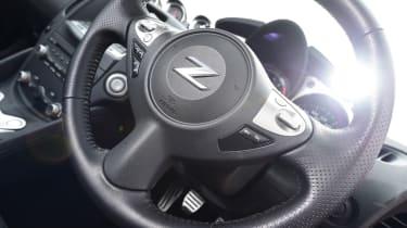 Nissan 370Z GT –steering wheel