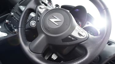 Nissan 370Z GT – steering wheel