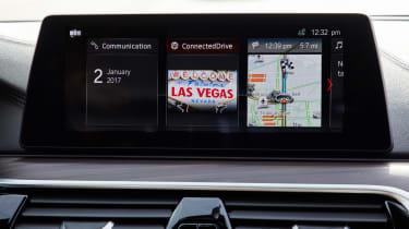 BMW 5 Series Personal CoPilot autonomous prototype screen