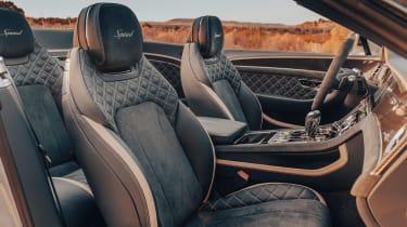 Bentley Continental GT Speed Convertible - front seats