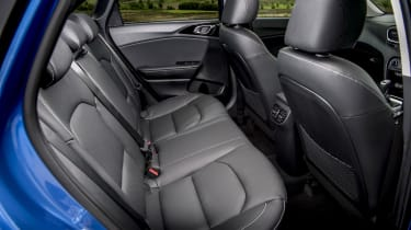 New Kia Ceed rear seats