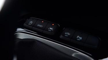 Vauxhall Corsa centre console buttons