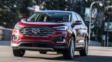Ford Edge 2018 facelift nose