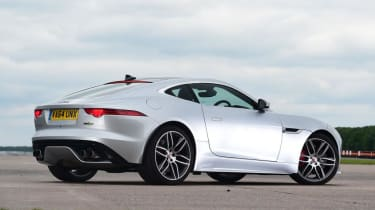 Used Jaguar F-Type - rear