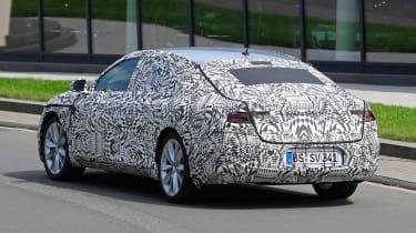 VW Passat CC spies rear