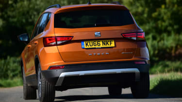 Long-term test review: SEAT Ateca - rear cornering