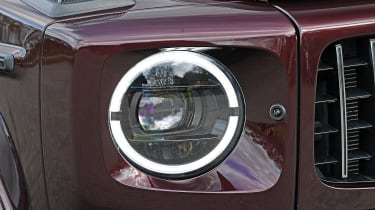 Mercedes-AMG G 63 - long term final report headlight