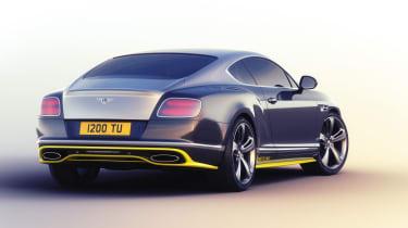 Bentley Continental Breitling - rear