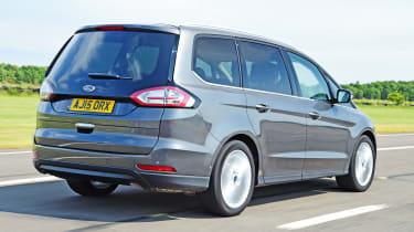 Ford Galaxy - rear tracking
