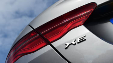 Jaguar XE - rear light