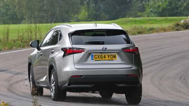 Lexus NX rear cornering