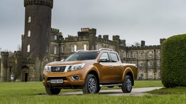 Nissan Navara first UK drive - front three quarter
