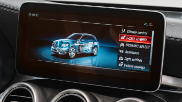 Mercedes GLC F-Cell - infotainment