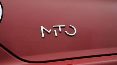 Alfa Romeo Mito badge