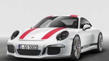 Porsche 911 R leaked pic