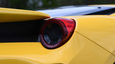 Ferrari 488 Pista - rear light