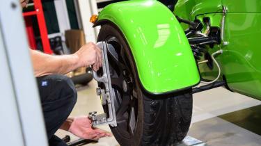 Long-term test review: Caterham 270S wheel