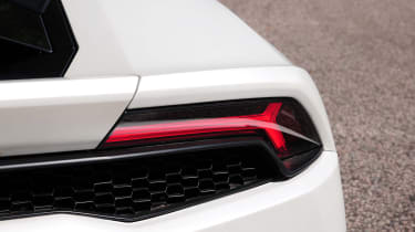 New Lamborghini Huracan taillight