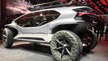 Audi AI: Trail - rear 3/4 static Frankfurt