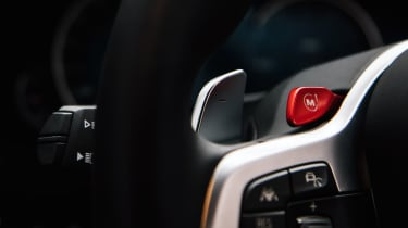 New BMW M5 - controls