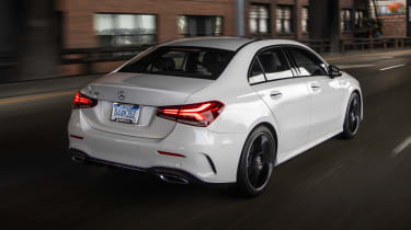 Mercedes A-Class Saloon - rear night