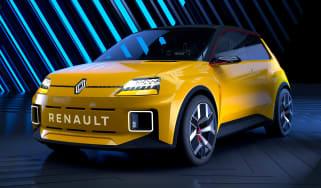Renault 5 EV concept - front