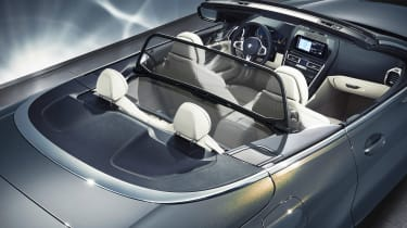 BMW 8 Series Convertible - seats