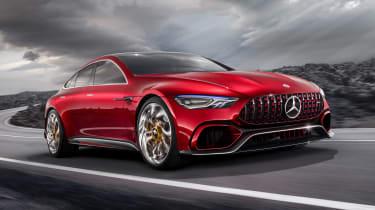 Mercedes-AMG GT Concept - front