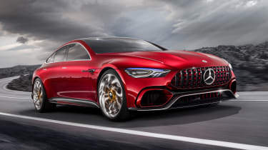 Mercedes-AMG GT Concept - front