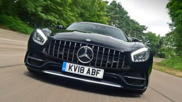 Mercedes-AMG GT C - full front