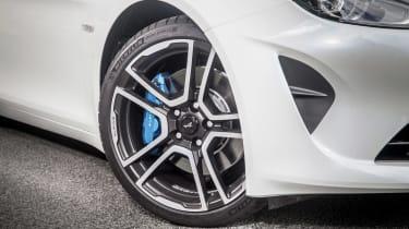 Alpine A110 ride review - wheel