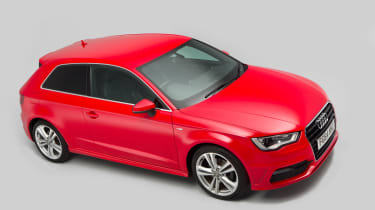 Used Audi A3 mk3 2012 - front high