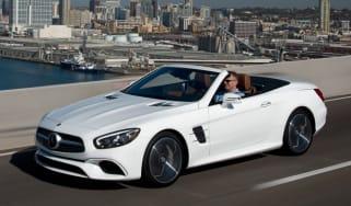 Mercedes SL400 - front