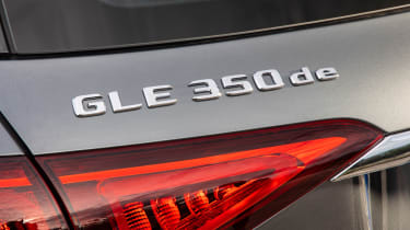 Mercedes GLE 350 de - badge