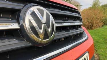 Volkswagen T-Cross 1.0 TSI - long termer first report VW badge