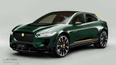 Lister SUV-E Concept - front