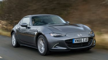 Mazda MX-5 RF 2017 1.5 UK - front tracking 2