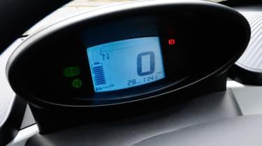 Renault Twizy dials