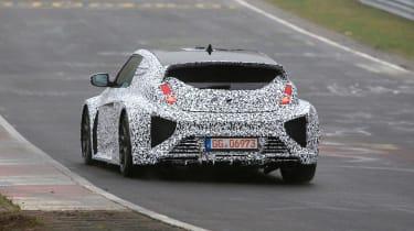 Hyundai RM16 N - Nurburgring spy shot rear